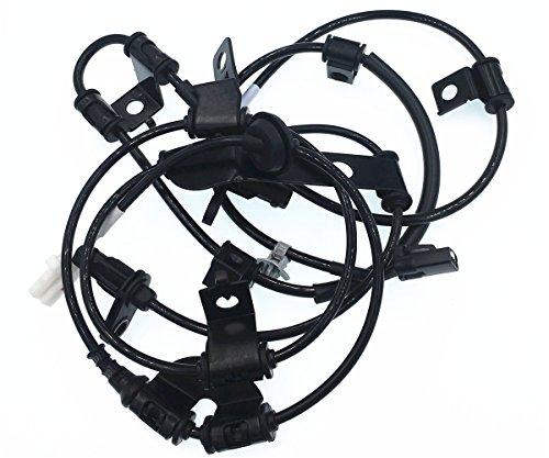 HZTWFC Capteur de vitesse de roue ABS avant arrière gauche OEM # 95670-2S300 95680-2S300 pour Hyundai IX35 - KIA Sportage 1.6 1.7 2.0