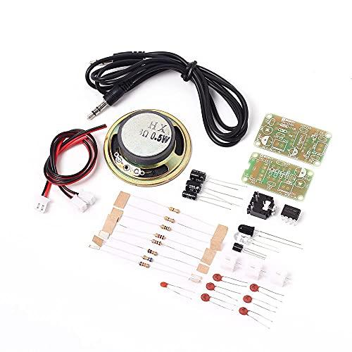 Módulo electrónico TAI-01 5V infrarrojos de audio 3pcs módulo transceptor de infrarrojos IR DIY Kit de sonido Transmisión de voz del kit Equipo electrónico de alta precisión