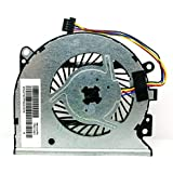 CAQL CPU Cooling Fan for HP Envy X360 15-U000 15-U100 15-U300 15-U400 15-U410NR 15-U437CL 15-U473CL 15-U483CL 15-U493CL 15-U499NR, P/N: 776213-001 779598-001 (4-Wires) 4-pins Connector