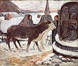 Paul Gauguin – Christmas Night (Detail) 1894 Paul Gauguin