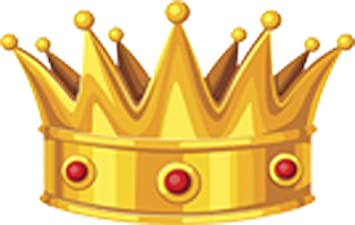 Amazon Com Beautiful Gold Crown With Red Rubies King Queen Cartoon Vinyl Sticker Arts Crafts Sewing Share the best gifs now >>>. rubies king queen cartoon vinyl sticker
