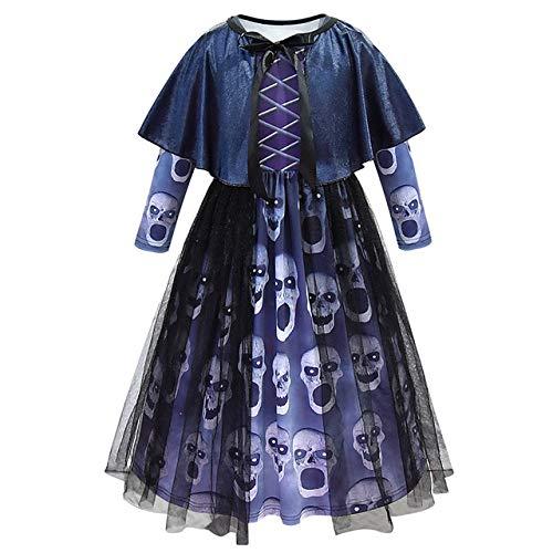 BCOGGHorror - Disfraz de Bruja Escarlata para niños, Disfraz de Bruja para Halloween, demón, purio, Halloween, Disfraz de Corpse Bride