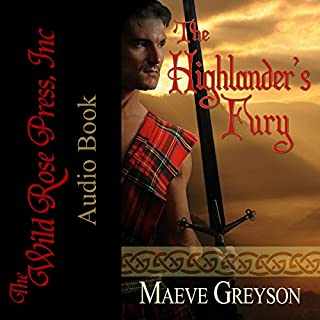 The Highlander's Fury audiobook cover art