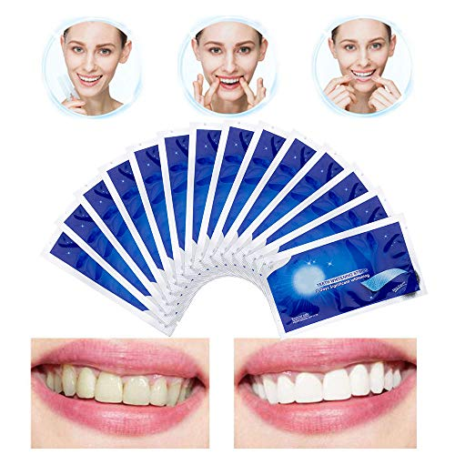 Barabum 3D Teeth Strips for Whitening, Professional Effects Strips for Whitening Kit 14 Pairs