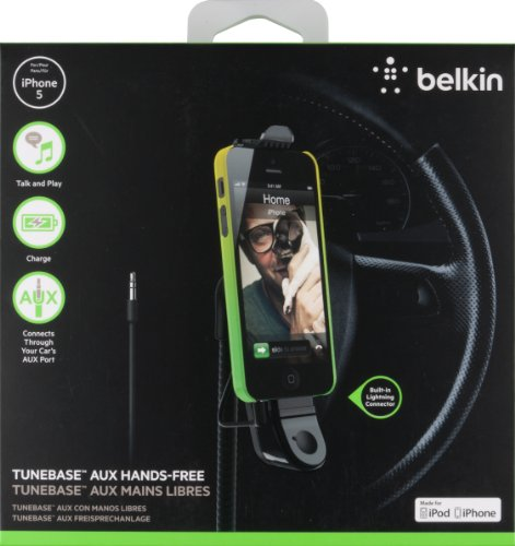 Belkin In Car TuneBase Direct with Handsfree Charge for iPone SE/5 and 5s