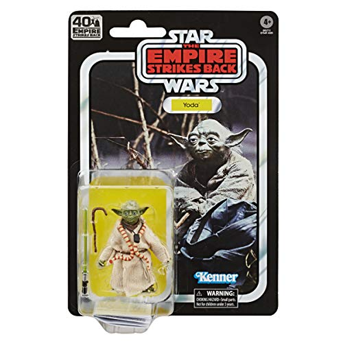Hasbro Star Wars The Black Series Yoda 15 cm große Star Wars: Das Imperium schlägt zurück 40-jähriges Jubiläum Figur zum Sammeln, Kids ab 4 Jahren