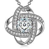 Alex Perry Regalo mujer collares cadena de plata zirconia colgante joyas para mujer regalos san valentin mujer pendientes para boda niñas novia regalo para mujer