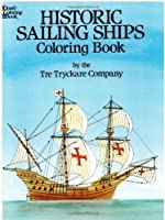 Historic Sailing Ships Coloring Book by Tre Tryckare(1982-10-01)