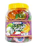 Yame || Mix Fruit Jelly || Delicious with different flavors || Halal || JAR || Net Weight : 1.94 oz (55g) || 40 pcs (Product of Malaysia) || (pack 01)