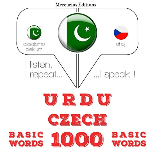 Urdu – Czech. 1000 basic words cover art