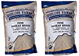 Shiloh Farms Organic Fine Wheat Bran - 20 Ounce Bag (Pack of 2) - An easy and convenient way of adding fiber to your diet