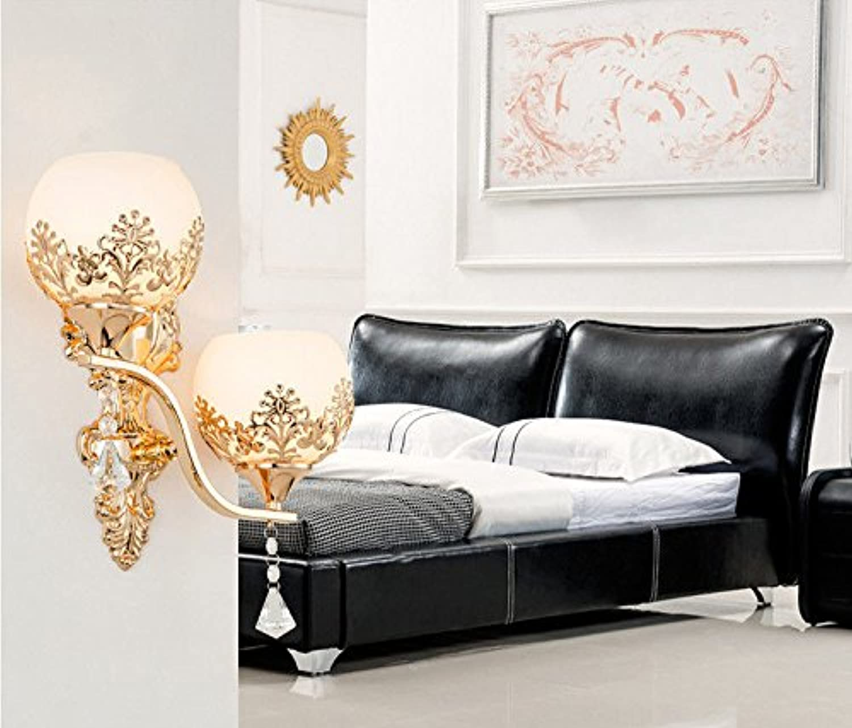 Wlxsx Kreative Moderne Minimalistische Led Crystal Wand Lampe Schlafzimmer Nachttischlampe Gang Europischen Wohnzimmer Hintergrund Wandleuchte