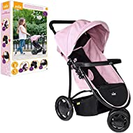 GREAT FIRST PRAM - Keep your dolly comfy when out and about in the Joie 3 wheeled litetrax pram. With easy steering double wheels can fit dolls up to 43cm or 17 inches. NURTURING PLAY - It also encourages nurturing and multi-functional role-play and ...