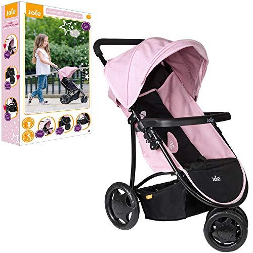 HTI Joie Junior 3 ruedas Litetrax Cochecito de bebé | Cochecito de bebé infantil Gran regalo para niñas y niños mayores de 3 años