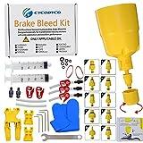 CYCOBYCO Kit de purga de freno hidráulico para bicicleta Shimano, SRAM, AVID, MAGURA, TEKTRO, Hayes compatible con todos los modelos (estándar)