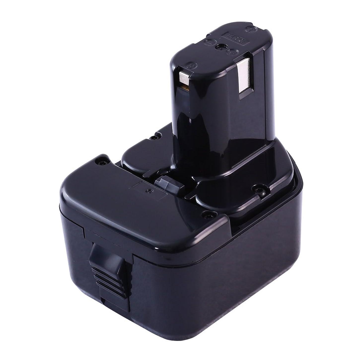 EB1214 EB1214S 日立12vバッテリー 日立バッテリー12v 3000mAh HITACHI EB1214S EB1212S EB1214l EB1220bl EB1212S 対応 電動工具バッテリー 日立 互換バッテリー12v ニッケル水素 PSE認証取得済み 安心の1年保証 無料交換可能