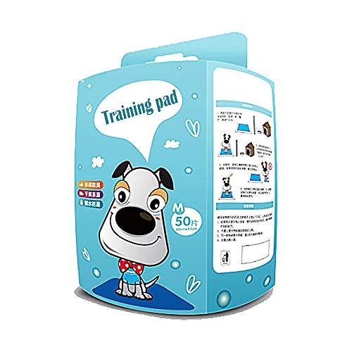 HUILI Hond Puppy Training Pee Pad, Super Absorbent Polymer (SAP) - waterdicht En Deodorize Verkrijgbaar in 4 maten, voor Puppies Honden of Katten