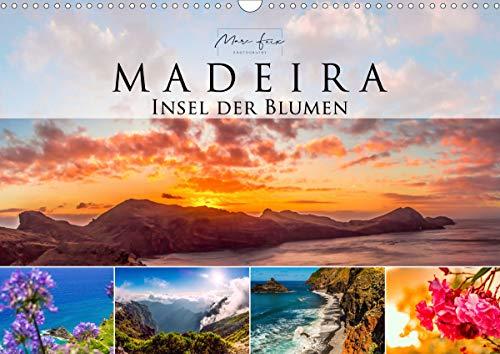 Madeira - Insel der Blumen 2021 (Wandkalender 2021 DIN A3 quer)
