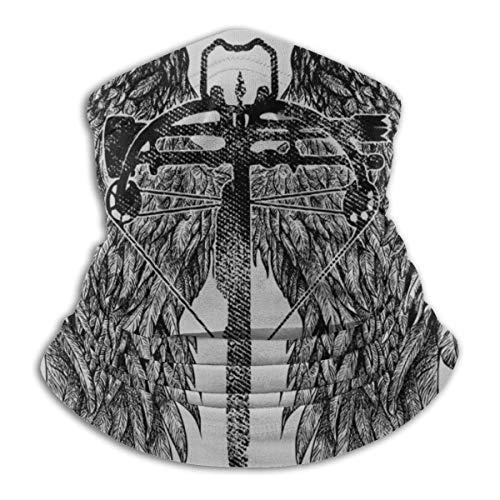 Die Armbrust von Daryl Face Face Guard Bandanas für Staub, im Freien, Festivals, Sport genehmigt