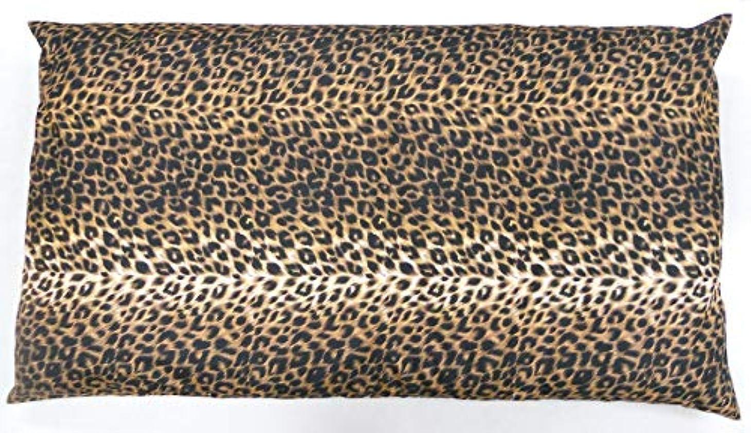 曖昧な心のこもったオセアニアJOYDREAM 長座布団カバー 68 120 cm ヒョウ柄 ブラウン 日本製 68x120