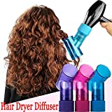 Vent Spin Hair Curl Diffuser, Wind Spin Roller Sèche-Cheveux Diffuseur Hair Curler, Magic Curl Hair Dryer Diffuser Wind Spin Roller Curler Hairstyle Tools