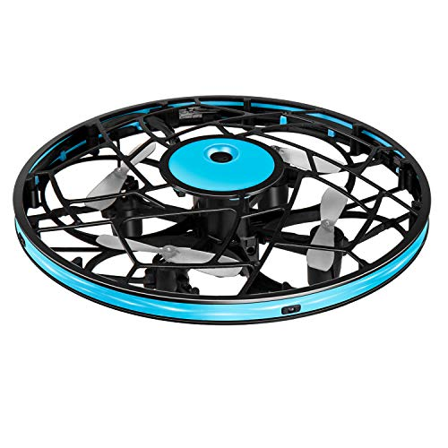Hand Operated Drones for Kids Toddlers Adults  Mini LED Hands Drone For Kids Small UFO Flying Ball Drone Toys for Kids 6 7 8 9 10 11 12 and Up Years Boys and Girls Gift