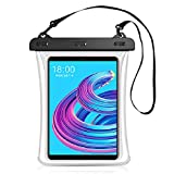 Universal iPad Waterproof Bag Case,Cljlixcy Touch Sensitive Dry Bag with Lanyard Waterproof Bag Case for iPad 8th/7th/6th/5th/4th Generation 10.5/10.2/9.7/10.2 ipad Mini case