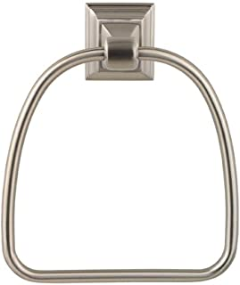 Baldwin 3594.150 Stonegate Towel Ring, Satin Nickel, 1-Pack