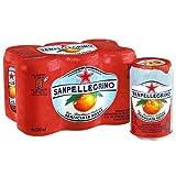 San Pellegrino Aromatise Boisson Pétillante au Jus d'Orange Sanguine 6 x 330 ml
