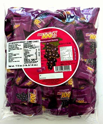 Cocoaland Blackcurrant Blackberry Gummy Candy Grape 17.6 oz