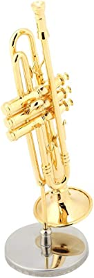 Amazon.com: Broadway Regalos Oro Trombón miniatura de 3 ...
