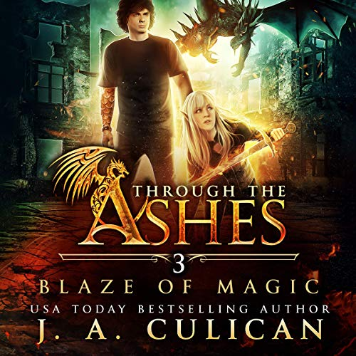 Blaze of Magic cover art
