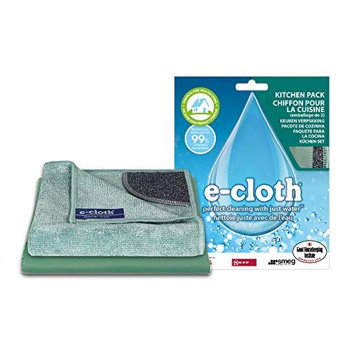 Polti EAP1 E-Cloth - Mikrofaser - Küchenreinigungstücher, 2 Stück, Andere
