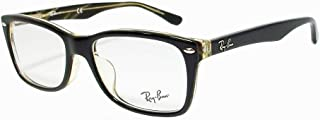 RX5228F Asian Fit Square Eyeglass Frames