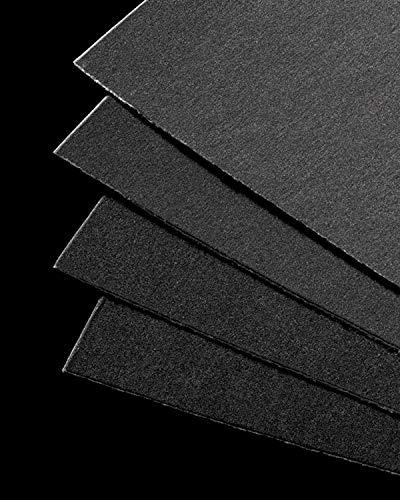 "Uart Grade 600 Dark Premium Sanded Pastel Paper - 12"" x 18"" Ten Pack"