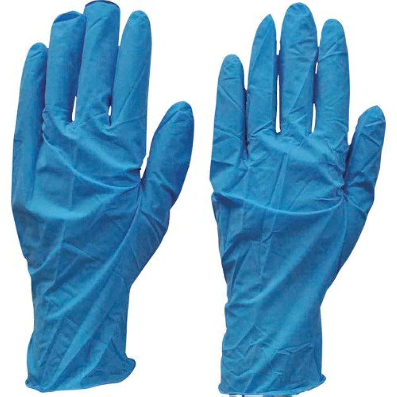 保持する協会揮発性ダンロップ N-211 天然ゴム極うす手袋100枚入 Mブルー N211MB