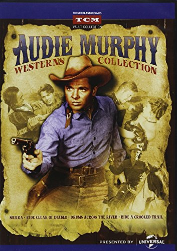 Audie Murphy Westerns Collection: Sierra / Drums Across the River / Ride Clear Diablo / Ride a Crooked Trail