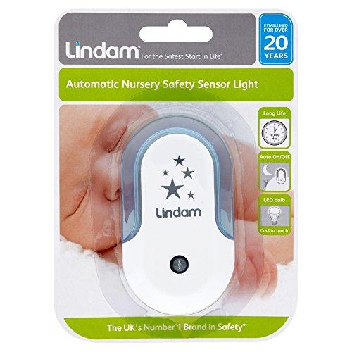 Lindam Automatic Nursery Safety Sensor Light LED Bulb, Blue