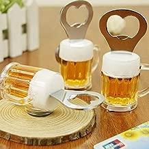 Worthy Shoppee Bottle Opener Fridge Magnet Beer Glass Shape Pack of 1 PC
