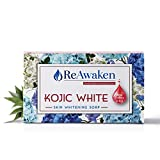 ReAwaken Kojic White Skin Whitening Soap with Vitamin C & E - 100g