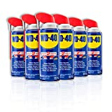 WD-40 Multi-Use Product with SMART STRAWSPRAYS 2 WAYS, 12 OZ [6-Pack] adhesives May, 2021