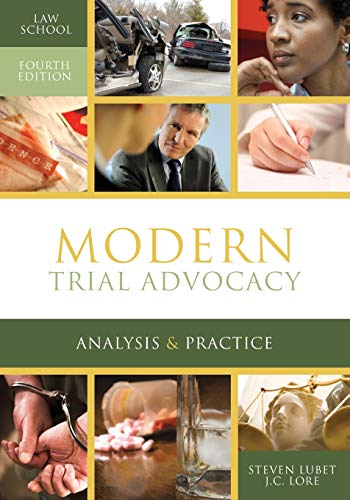 Compare Textbook Prices for Modern Trial Advocacy Analysis & Practice: Law School Fourth Edition NITA Fourth Edition ISBN 9781601565730 by Lubet