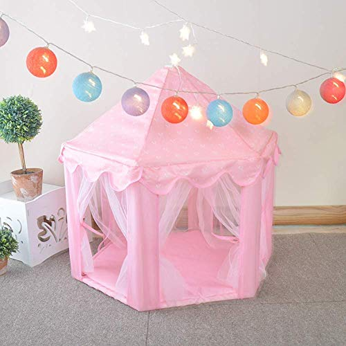 YPSMLYY Kennel Cat Nest Gazebo Shape Universal Four Seasons Pet Tent, Removable Indoor And Outdoor Pink,L:73×75cm