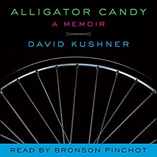 Alligator Candy audiobook cover art
