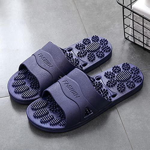 MLLM Hombres Uso En Interiores Zapatillas,Zapatillas de Jacuzzi, Zapatillas frías de pedicura Antideslizante-K_44-45,D1