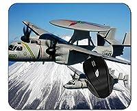 マウスパッド軍用機の火山マウスパッド、ステッチエッジ付き