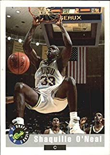 1992 Classic #1 Shaquille O'Neal NBA Basketball Trading Card