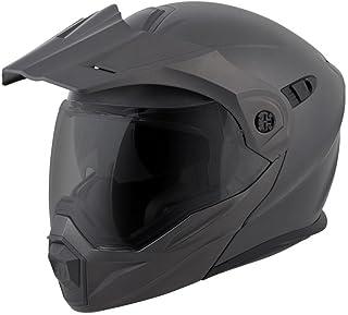 ca401d6c ScorpionEXO Unisex-Adult Modular/Flip Up Adventure Touring Motorcycle Helmet  (Anthracite, Large