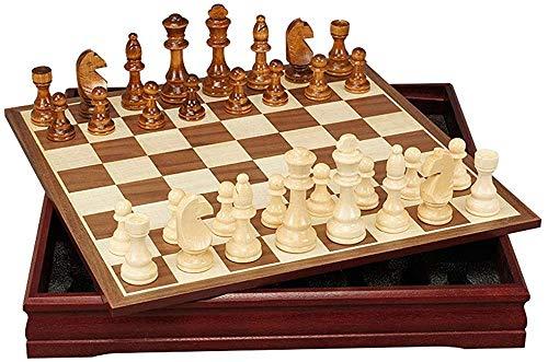 Ajedrez para tablero harry potter juegos Ajedrez conjunto de ajedrez, ajedrez de madera con piezas de ajedrez, tablero de juegos portátil con almacenamiento, ajedrez establecido para actividades famil