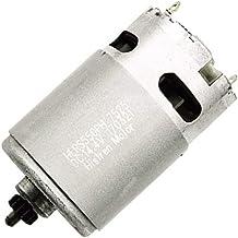 Motor de 13 dientes 14,4 V para Bosch GSR GSR14.4-2-Li PSR14.4 Li-2, piezas de repuesto duraderas para motor de taladro, herramientas eléctricas de metal, accesorios de repuesto, plateado